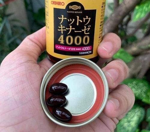 Thuốc chống đột quỵ Nattokinase 4000FU Orihiro review-4