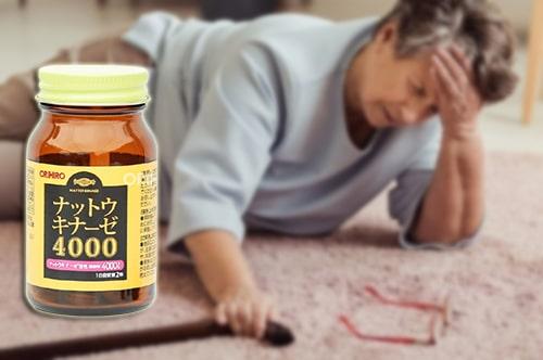 Thuốc chống đột quỵ Nattokinase 4000FU Orihiro review-5