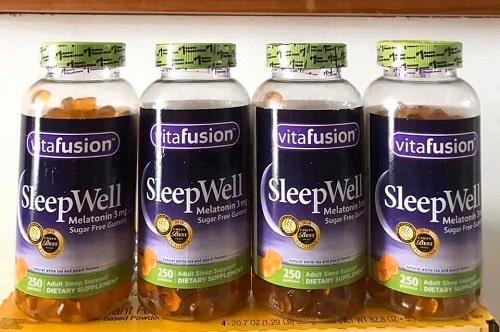 Kẹo ngủ SleepWell Vitafusion review