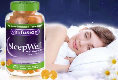 Kẹo ngủ SleepWell Vitafusion review-5