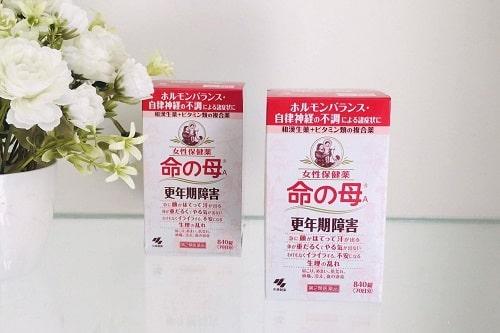 Viên uống tiền mãn kinh Kobayashi review-3