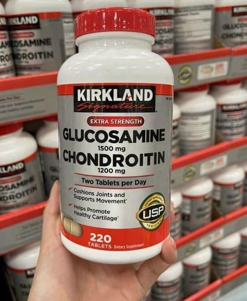 Thuốc bổ khớp Kirkland Signature Glucosamine Chondroitin review-2
