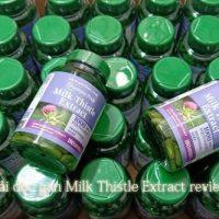 Thuốc giải độc gan Milk Thistle Extract review-1