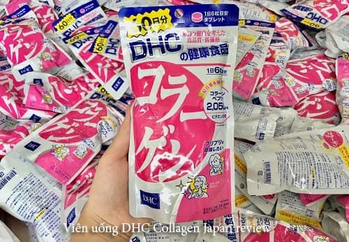 Viên uống DHC Collagen Japan review có tốt không?