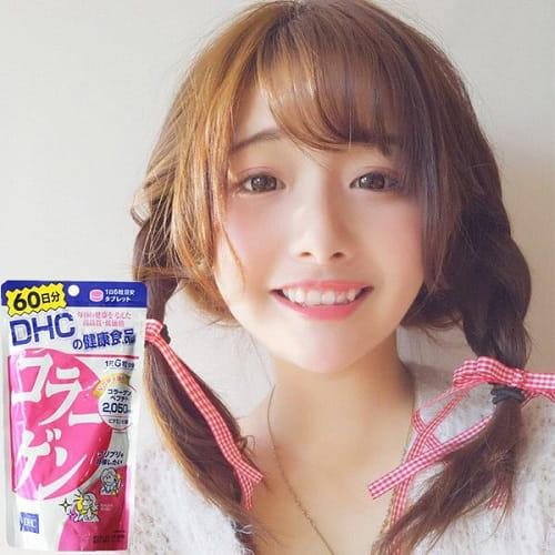 Viên uống DHC Collagen Japan review có tốt không?-5