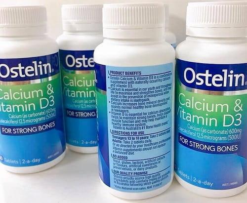 Thuốc bà bầu Ostelin Calcium & vitamin D3 review-3