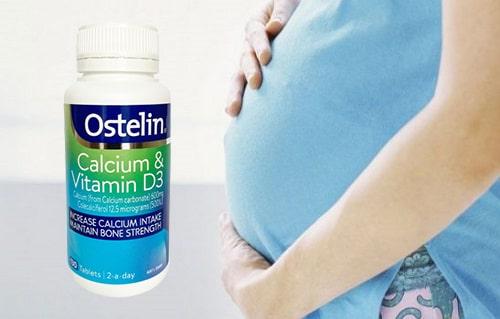 Thuốc bà bầu Ostelin Calcium & vitamin D3 review-5