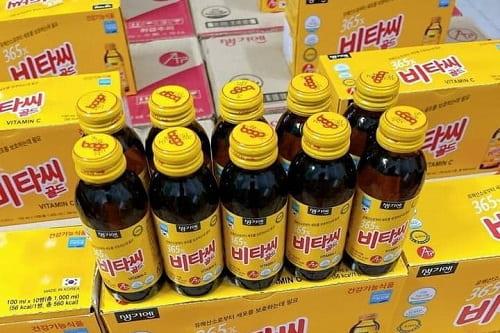 Nước uống 365x Vitamin C Gold có tốt không?